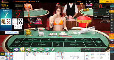 Baccarat Sexy Gaming