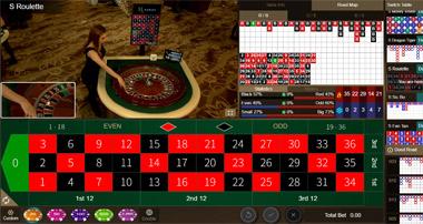 Roulette เกมรูเล็ตต์ SA Gaming