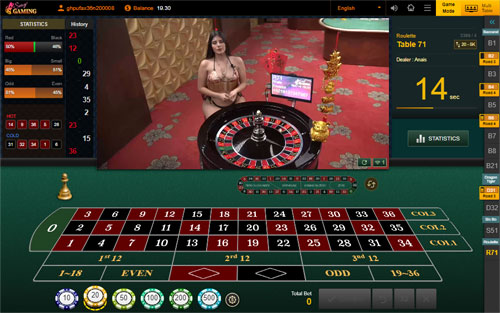 Sexy Roulette Online