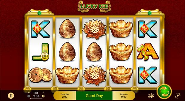 Lucky Koi Slot Spade Gaming