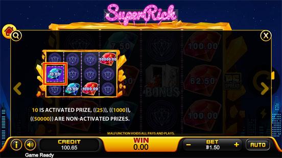 วิธีชนะรางวัล Ufa Super Rich Slot