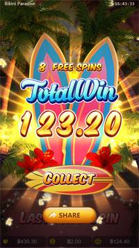 Total Win Bikini Paradise PGSLOT