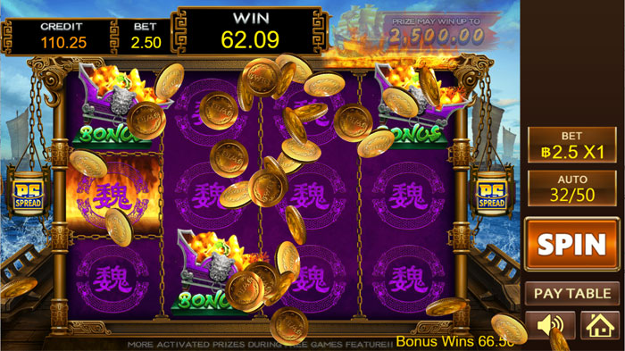 รางวัล Big Win Super Powerful Slot