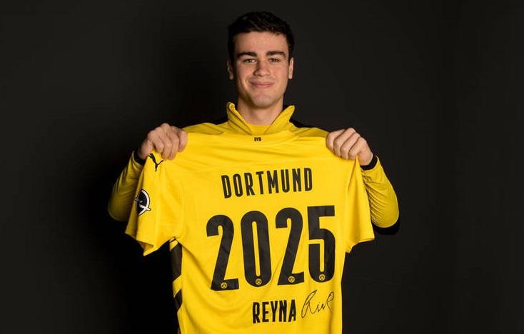 Official! ดอร์ทมุนด์ต่อสัญญา เรย์น่า ถึงปี 2025