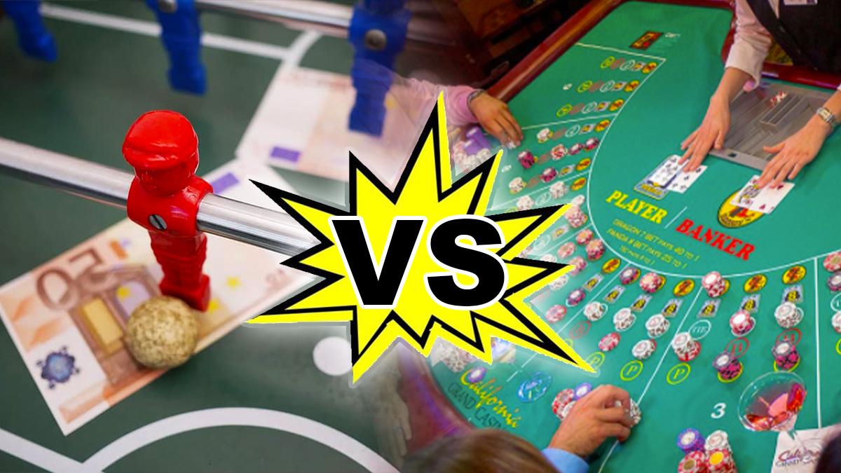 พนันกีฬาหรือพนันเกมคาสิโน - เกมไหนที่ทำให้คุณรวย